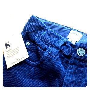 NWT Old Navy 5T Corduroy Navy Pants